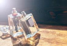 Lato zamknięte w butelce perfum